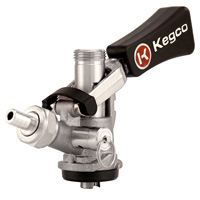 Inventory Reduction - Beer Keg Taps Couplers S System Ergonomic Lever Handle Stainless Steel Probe