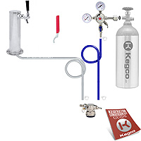 Low Profile Standard Tower Kegerator Conversion Kit
