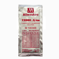 Milwaukee M10030B 12.880 microSiemens/cm Conductivity Calibration Solution - 20 mL