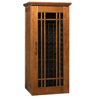 Mission 1400 172-Bottle Wine Cellar - Provincial Cherry Finish