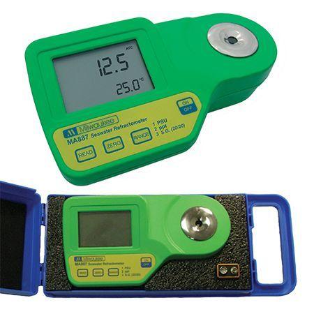 Milwaukee MA884-BOX Digital Refractometer for Wine & Grape Product Measurements