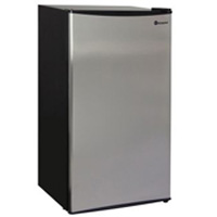 3.3 Cu. Ft. Refrigerator - Stainless Steel Door