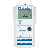Milwaukee MW101 pH Meter (0.1 pH Resolution)