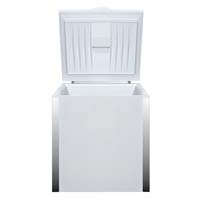 5.0 Cu. Ft. Commercial Chest Freezer - White