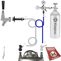 Standard Homebrew Kegerator Conversion Kit