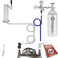 Standard Homebrew Tower Kegerator Conversion Kit