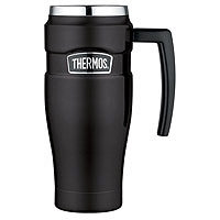 Thermos SK1000BKTRI4 Vacuum Insulated Stainless Steel Travel Mug - Matte Black