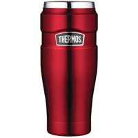 Thermos SK1005CRTRI4 Vacuum Insulated Travel Tumbler - Cranberry Red