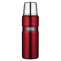 Thermos SK2000CRTRI4 Vacuum Insulated Compact Bottle - Cranberry Red