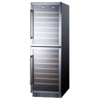 118 Bottle Dual Zone Wine Refrigerator