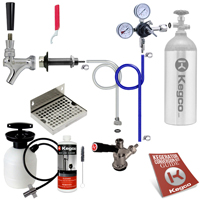Ultimate Door Mount Kegerator Keg Tap Conversion Kit