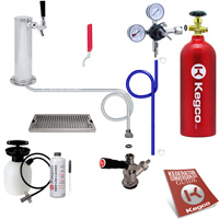 Ultimate Tower Kegerator Conversion Kit w/ Tank EBUTCK-5T - Kegco.com & Marketplace
