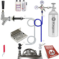 Ultimate Door Mount Home Brew Kegerator Keg Tap Conversion Kit