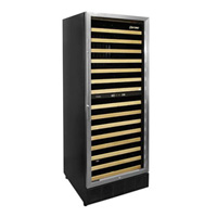Vinotemp VT-188-MBSH 160-Bottle Dual Zone Built-in Wine Refrigerator