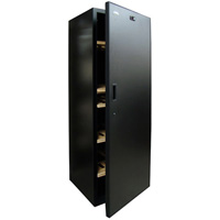 VinoCellier Solid Door 267 Bottle Wine Cabinet Cellar