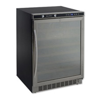 Avanti WCR5403SS Wine Refrigerator with 54-Bottle Capacity and Stainless Steel Glass Door