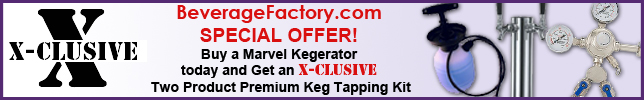 1 Photo of Kegerator Cabinet with X-CLUSIVE 2 Faucet D System Keg Tapping Kit - Black