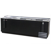 Scratch & Dent - Kegco XCD-2695B Commercial Horizontal Bottle Cooler - 28 cu. ft. Capacity