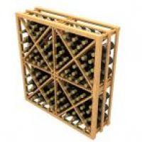 Stackable Diamond Cube Wine Rack