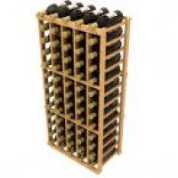 Stackable Five Column Wine Rack