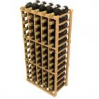 Stackable Five Column Wine Rack