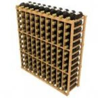 Stackable Ten Column Wine Rack
