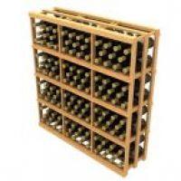 Stackable Rectangular Wine Bin