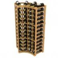 Stackable Curved Corner Wine Rack