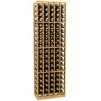 5 Column Wood Wine Rack