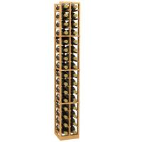 2 Column Magnum and Champagne Wood Wine Rack