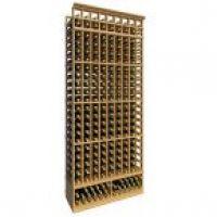 8' Ten Column Standard Wine Rack