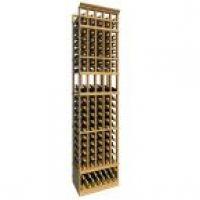 8' Five Column Display Wood Wine Rack