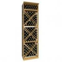 7' Lattice X-Cube Wine Rack
