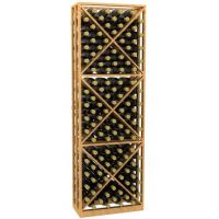 Lattice X-Cube Storage Wine Rack