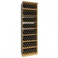 7' Solid Rectangular Wine Bin