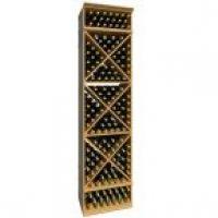 8' Solid X-Cube Wine Rack