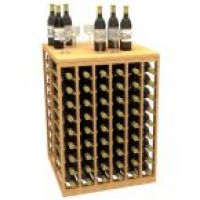 Wine Tasting Table and Storage Rack