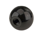 Black Plastic Ball Keg Knob Tap Handle