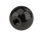Kegco Black Plastic Ball Beer Faucet Knob Tap Handle