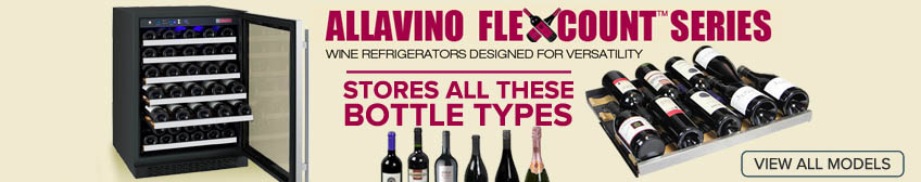 Allavino Flexcount Series - Versatile Racking for Diverse Collections