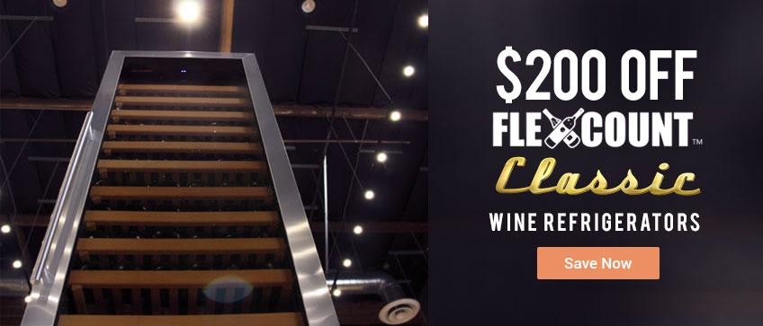 Flexcount Classic Wine Refrigerators - Taller is Better