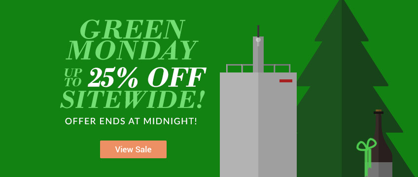 Green Monday - Up to 25% Off Site Wide
