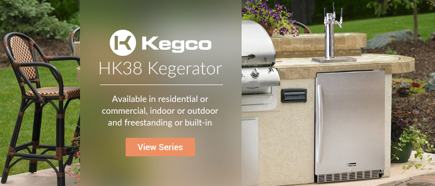 Kegco HK38 Series Kegerators
