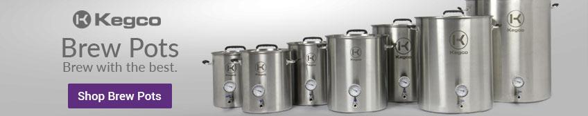 Kegco Brew Pots Rotation