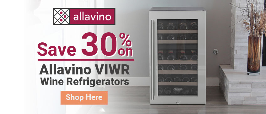 Limited Time Offer - 30% Off Allavino VIWR Compact Wine Refrigerators