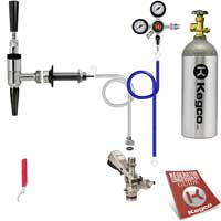 Standard Guinness® Dispensing Kegerator Keg Tap Conversion Kit