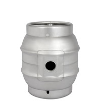 Brand New 5.4 Gallon Pin Cask Beer Kegs