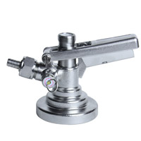 G System Stainless Steel Keg Tap Coupler