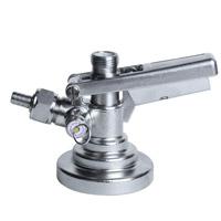 G System Stainless Steel Keg Tap Coupler