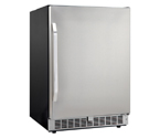 Danby DAR154BLSST Silhouette 5.4 Cu Ft Built-in Refrigerator - Black Cabinet with Stainless Steel Door